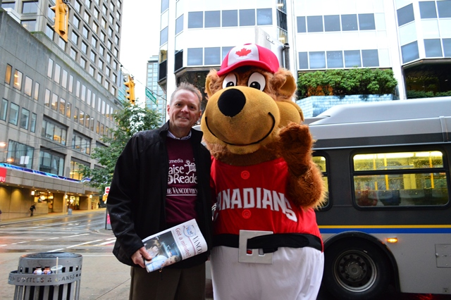 Fred Cummings and a few other TransLink executives will be selling papers at this year's Raise-a-Reader!