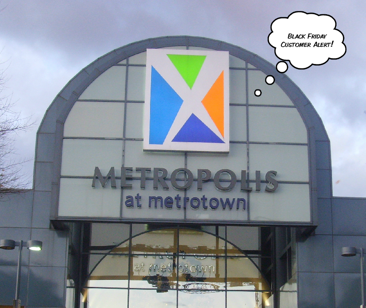 Sepcial hours, holiday hours and Black Friday hours in Metropolis at Metrotown (Burnaby, British Columbia).
