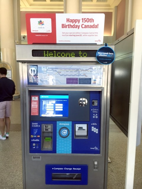 #Canada150 Commemorative Compass Card
