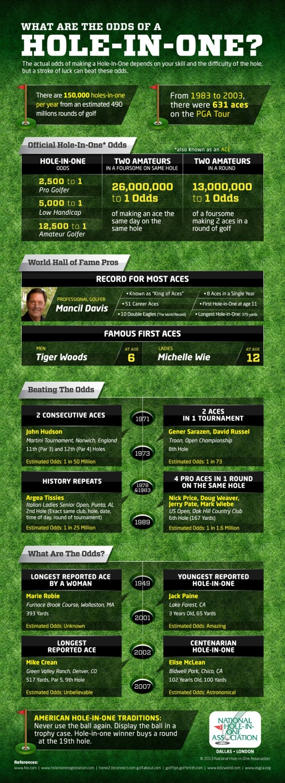 Hole in One Infographics