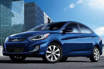 Quick and Peppy for an Entry Level Sedan: 2014 Hyundai Accent