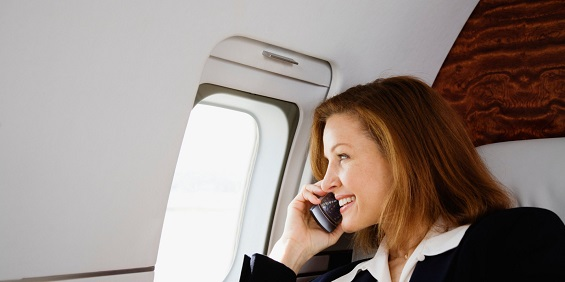 The DOT is looking to ban in-flight cell phone calls