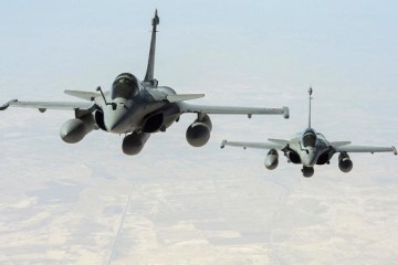 France has carried out its first airstrike in Iraq against the Islamic State
