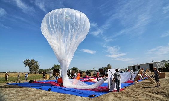 France's space agency is assisting Google with Project Loon