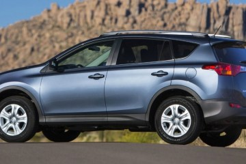 2015 Toyota RAV4 Side View