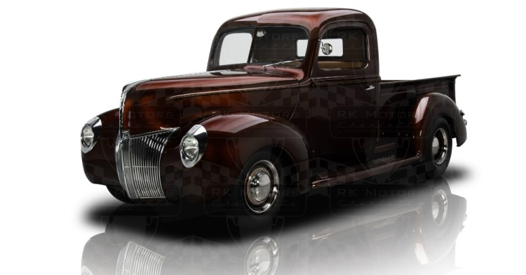Root Beer 1940 Ford Pickup