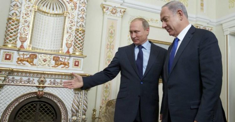 Vladimir Putin Benjamin Netanyahu