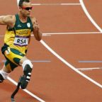 Oscar Pistorius, disabled runner