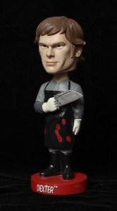 Dexter Bobble Head, Dexter Products, Dexter showtime, Showtime stores