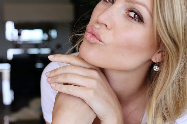 Trick for fuller looking lips