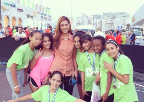 Lital Shemesh as Editor of Israeli's largest youth magazine