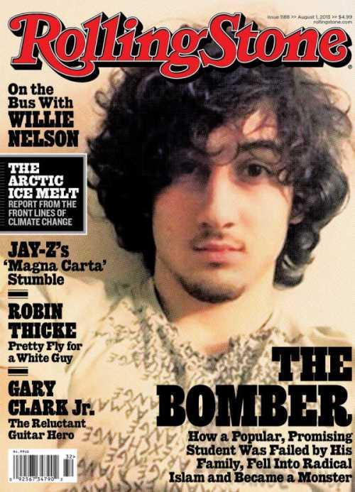 Rolling Stone Boston Marathon Bomber Dzhokhar Tsarnaev