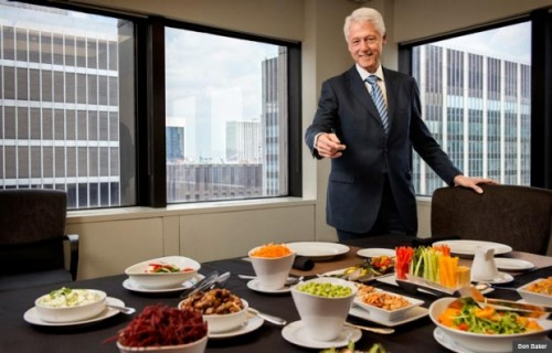 Bill-Clinton-Likes-Good-Food
