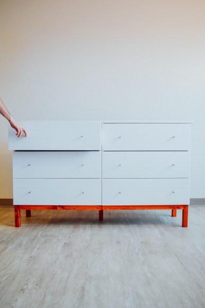 DIY: IKEA Tarva Dresser Hack // by gabriella @gabivalladares