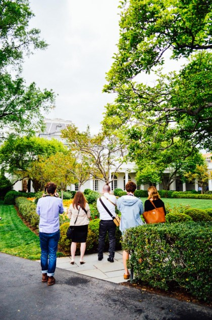 A group InstaMeet at the White House for National Park Week / bygabriella.co
