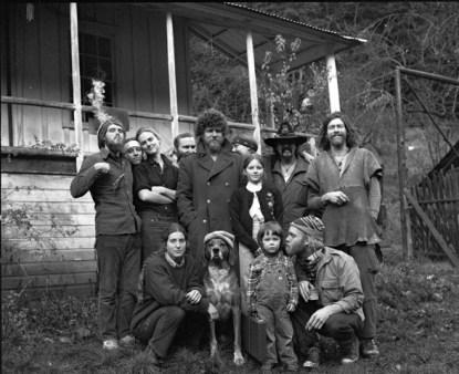 At Black Bear Ranch 1981. Photo by Jeff Buchin