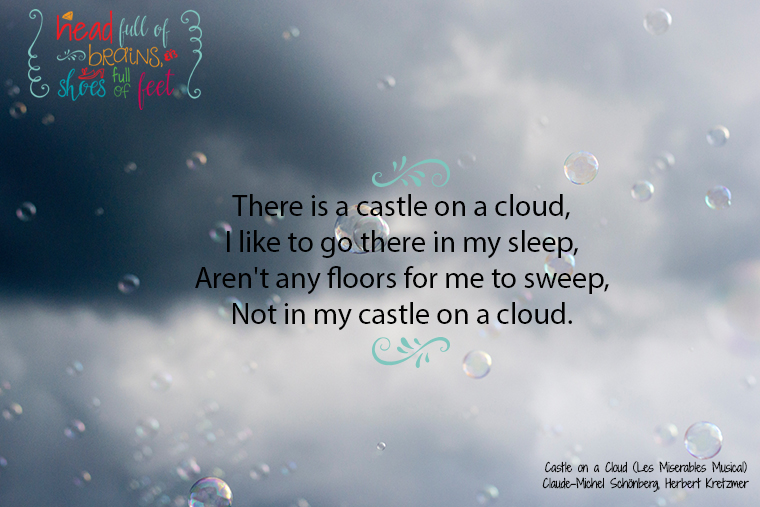 castle in a cloud