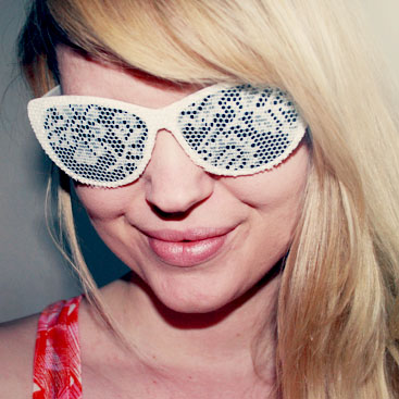 diy lace sunglasses small