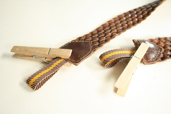 recycled belt camera strap diy
