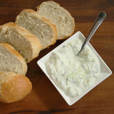 tzatziki recipe with chives small
