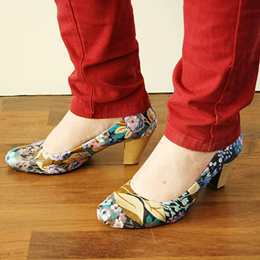 DIY - Mod Podge shoes small