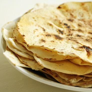 recipe - homemade tortilla wraps small