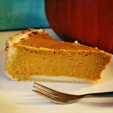 pumpkin pie small