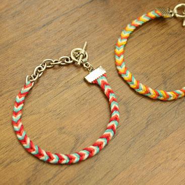 chevron friendship bracelet nr