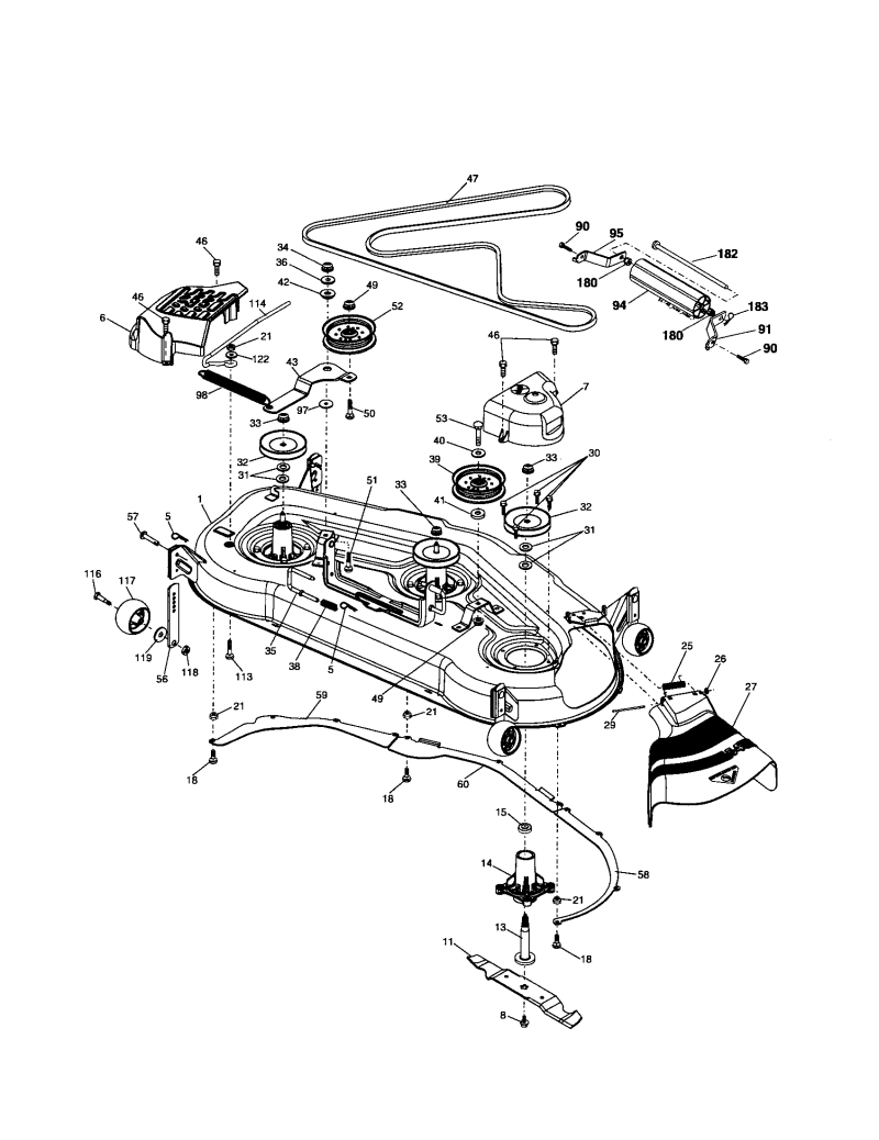 Husqvarna 54 Lawn Tractor Belt Diagram Search For Wiring Diagrams