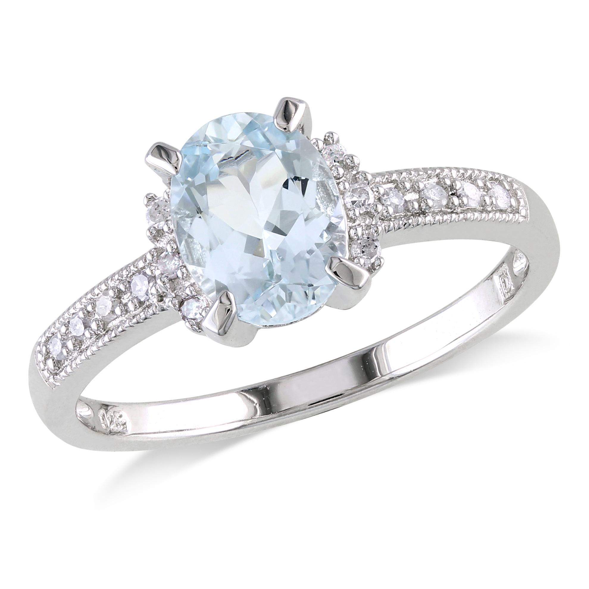 b wedding rings for women Gemstone