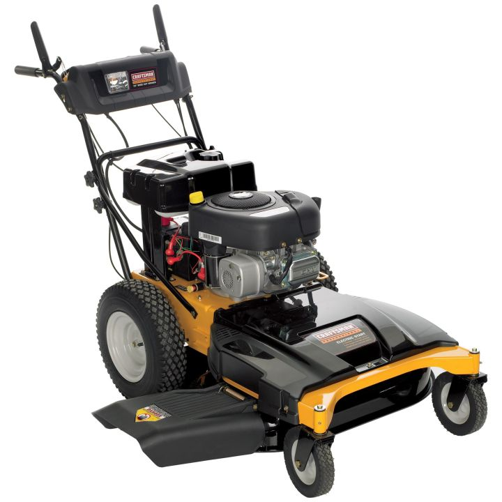 Walk Lawn Mowers Our lawn mowers are efficient and provide excellent ergonomics. Our self-propelled models significantly reduce the effort required to push the mower, and most models feature our 3-position height adjustment handle that allows you to choose your comfort setting.