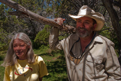 Ranchers Kim and Mark Nelson.