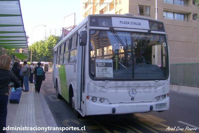Transantiago 307 | Caio Apache S21 - Mercedes Benz / VT8303