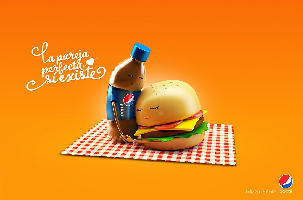 Pepsi - Perfect Couples Burger