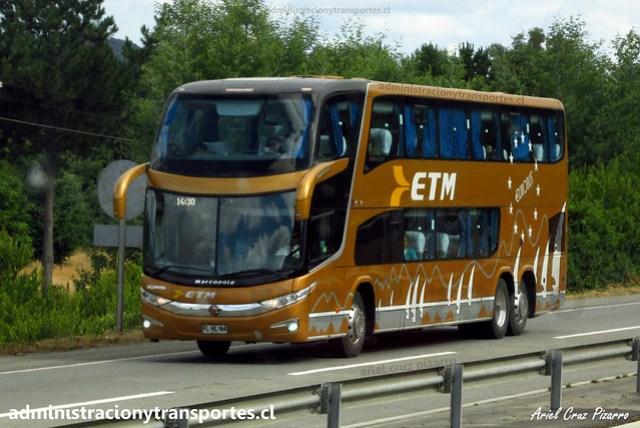 ETM (Salón Cama) | Marcopolo Paradiso 1800 DD - Scania / FLHL84