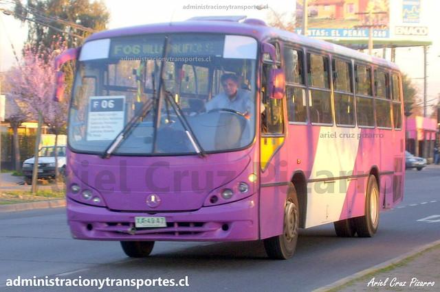 Transantiago F06 | STP Santiago | Neobus Spectrum - Mercedes Benz / XA4947