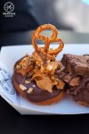 Review of The Whisk and Crumb: Pretzel and Peanut Butter Doughnut