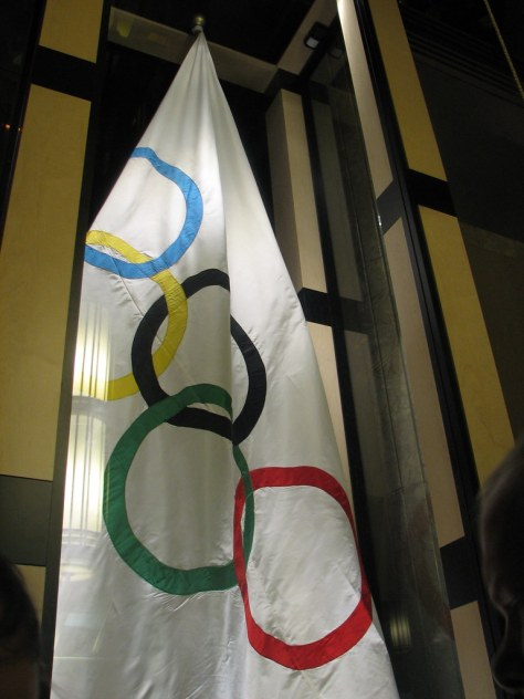 Olympic Flag Reception at City Hall