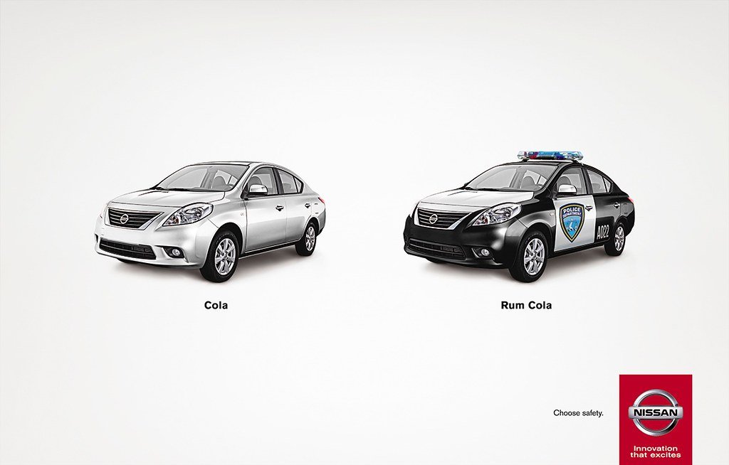 Nissan - Choose safety Rum Cola