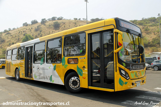 Transantiago F12 | STP Santiago | Caio Mondego II - Mercedes Benz / FLXS31
