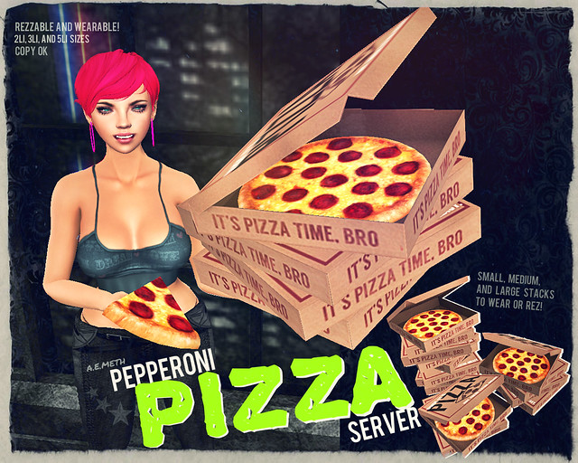 [ a.e.meth ] - Pepperoni Pizza Server