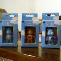 Care Bears Share-a-Bear and Gloomy Bear Zipper Pulls