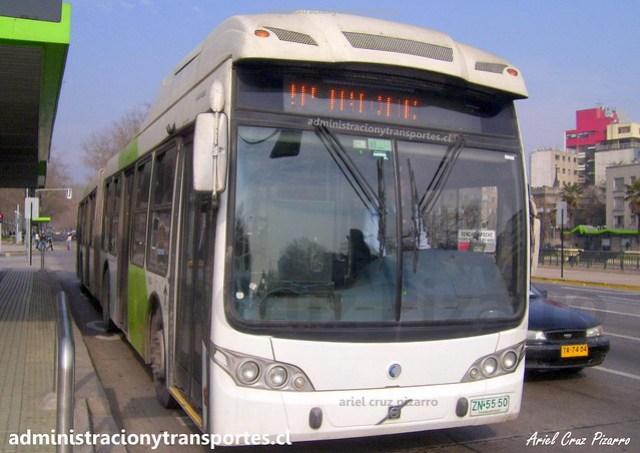 Transantiago 207 | Subus | Caio Mondego LA - Volvo / ZN5550