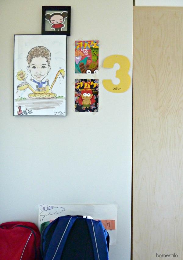 homestilo | gallery wall |kids gallery walls | kids space | kids room | childrens design | s martin homestilo