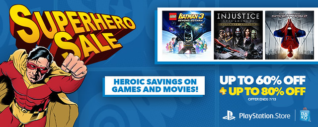 PlayStation Store: Superhero Sale