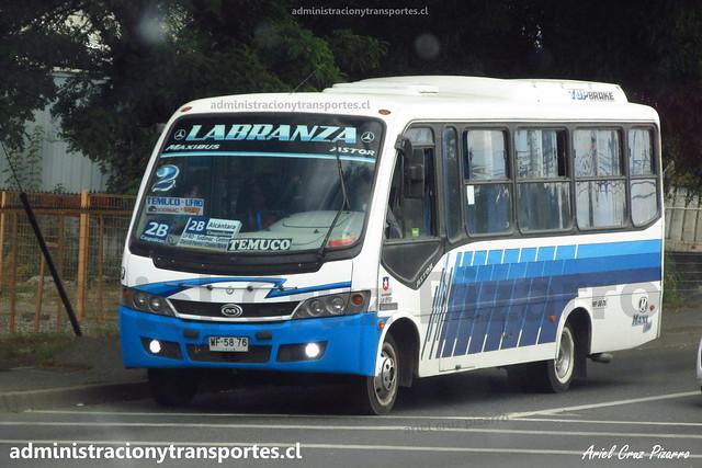 Temuco - Línea 9 | Maxibus Astor - Mercedes Benz / WF5876