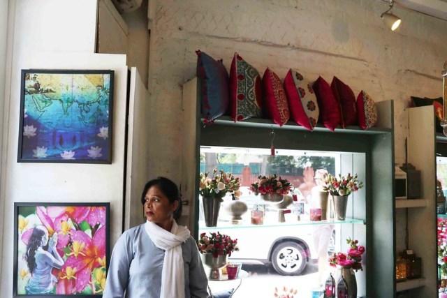 Mission Delhi – Geeta Devi, Good Earth, Khan Market