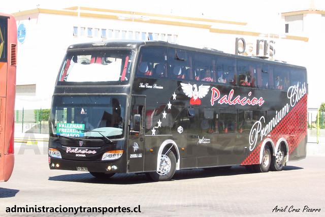 Buses Palacios | La Serena | Modasa Zeus - Scania / DJBK32