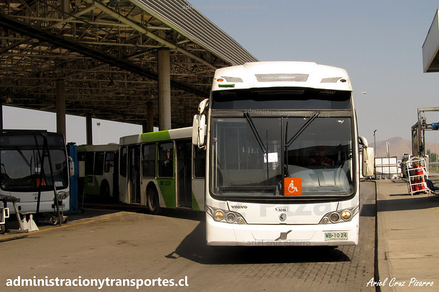 Transantiago FS | Subus | Caio Mondego LA - Volvo / WB1024