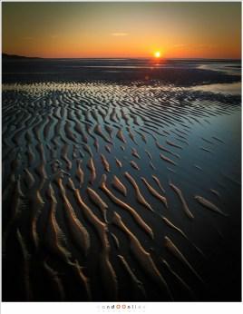 zonsopkomst en reflecties